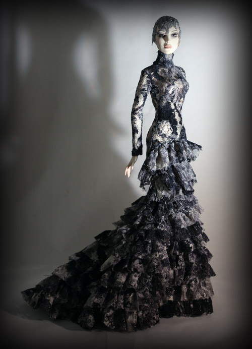 Dark Forest Collection gown