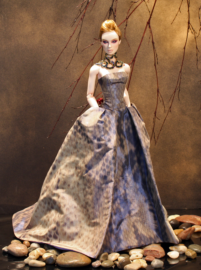 Collection Serpente OOAK gown